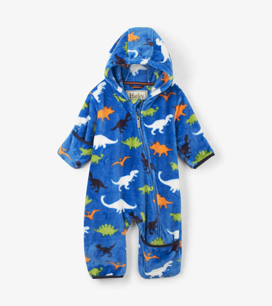 Honeypiekids | Hatley Infant Boys Dino Fleece Cold Weather Baby Bundler