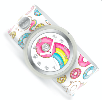 honeypiekids | Donut Party Watchitude Slap Watch.