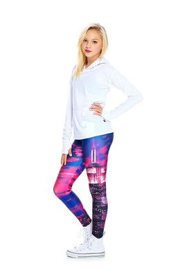 honeypiekids | Terez Girls Empire State Building Printed Leggings