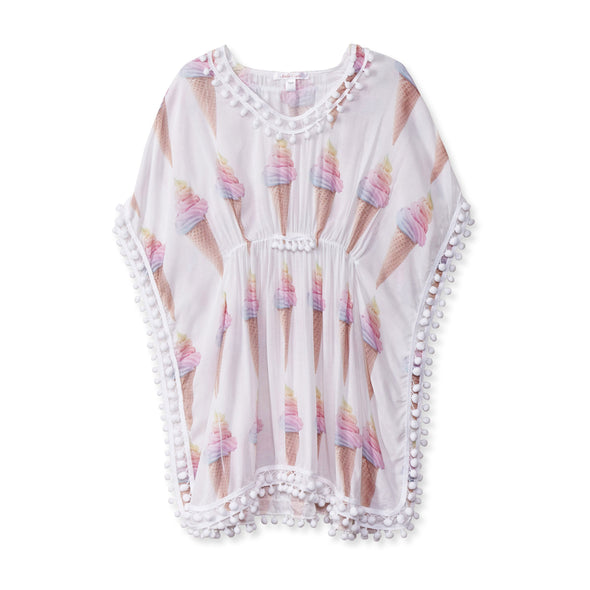 Honeypiekids | Stella Cove Ice Cream Cone Poncho Coverup