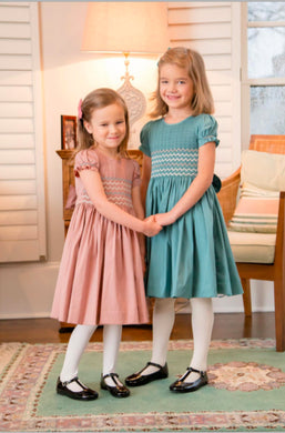 honeypiekids | Antoinette Paris Florence Hand Smocked Dress