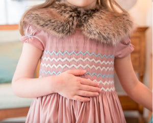 honeypiekids | Antoinette Paris Faux Fur Neck Scarf in 3 Color Choices