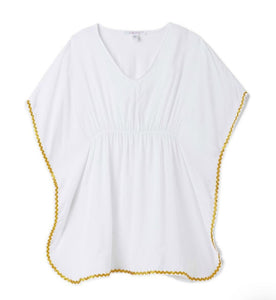 Stella Cove White and Gold Poncho Coverup - Honeypiekids.com