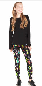 Terez Girls The Grinch Whoville Leggings | Honeypiekids