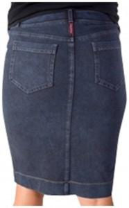 Hardtail Forever kids skinny knee skirt in Denim - Honeypiekids.com