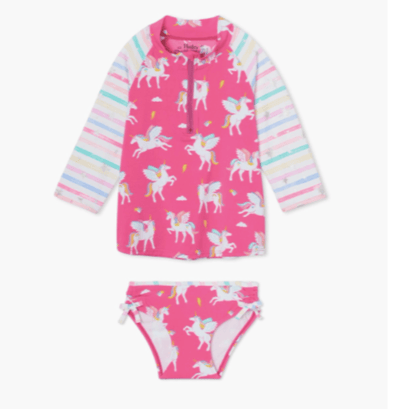 honeypiekids | Hatley Girls Magical Pegasus Rashguard.