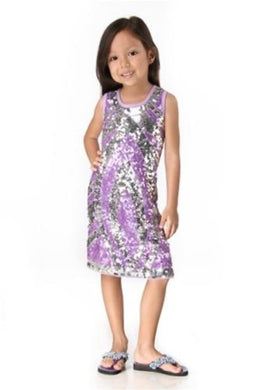 HavenGirl Purple eyes tank dress | Honeypiekids
