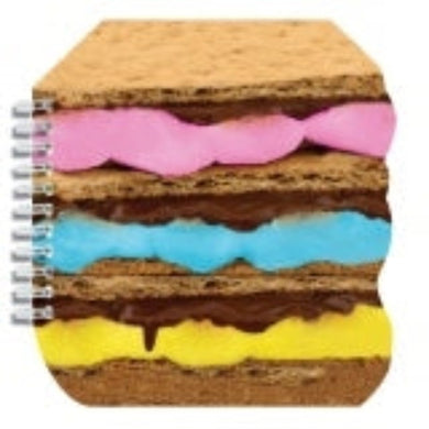 I-Scream Scented Smores Spiral Notebook - Honeypiekids.com