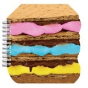 I-Scream Scented Smores Spiral Notebook