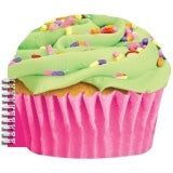 I-Scream Scented Cupcake Spiral Notebook - Honeypiekids.com
