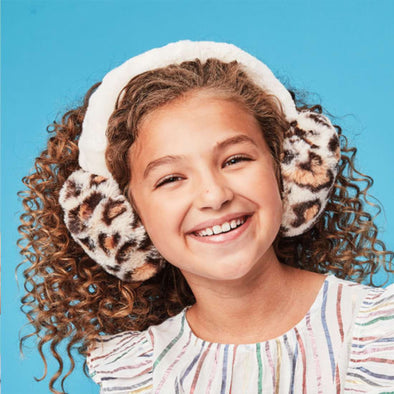 honeypiekids | I-Scream Leopard Ear Muffs.
