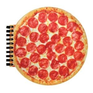 honeypiekids | I-Scream Pizza Scented Pizza Spiral Notebook