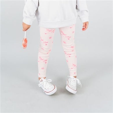 Kira Kids Pink Unicorn leggings - Honeypiekids.com