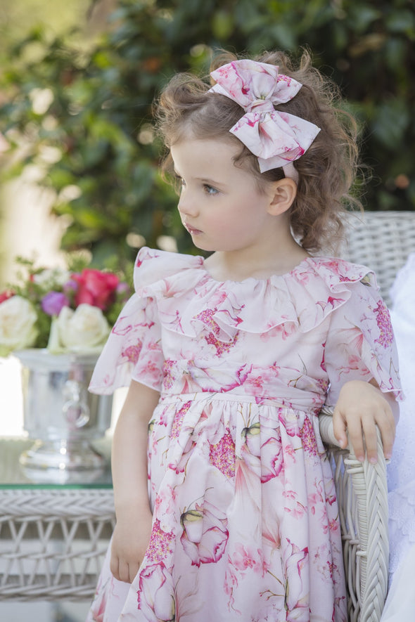 Honeypiekids | Patachou Girls Pink Botanical Headband