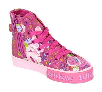 Honeypiekids | Lelli Kelly Fuxia Fantasy Hermione Mid Ankle Shoes