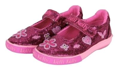 Lelli Kelly Purple Glitter Dafne shoes | Honeypiekids
