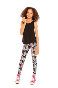 Terez Girls Lipstick Leggings - Honeypiekids.com