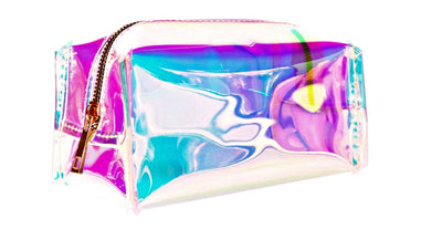 Bewaltz Holographic Jelly Makeup Bag | Honeypiekids
