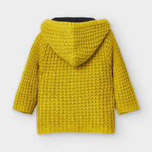 Load image into Gallery viewer, Honeypiekids | Mayoral Baby and Toddler Boys Mustard Woven Knit Jacket