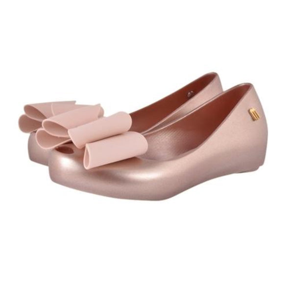 Honeypiekids | Mini Melissa Ultragirl Sweet II Flat in blush pink