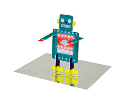 honeypiekids | Meri Meri Stand Up Robot Greeting Card