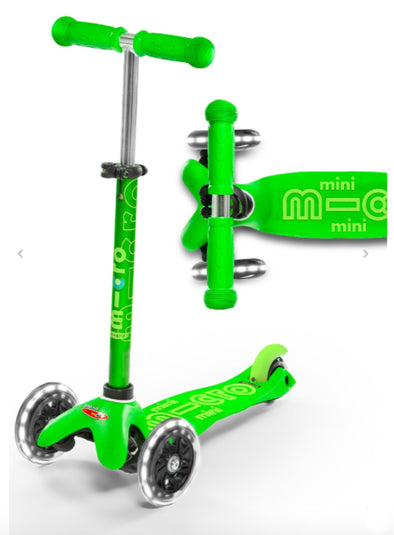 Honeypiekids | Micro Kickboard Mini Deluxe LED. Several Colors To Choose From.