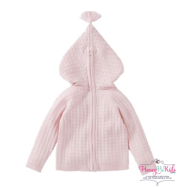 honeypiekids | MUDPIE INFANT KNIT ZIP UP HOODED SWEATER in Multiple Color Choices.