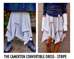 honeypiekids | Neve/Hawk Camerton Convertible Striped Dress