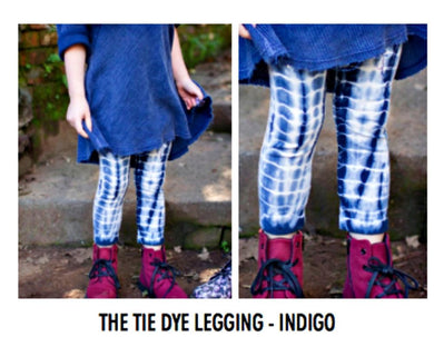 honeypiekids | Neve/Hawk Indigo Tie Dye Leggings