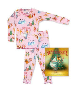 Books to Bed The Nutcracker Pajamas and Book | Honeypiekids