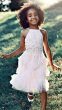 Load image into Gallery viewer, Ooh La La Couture Bianca Dress in Blush | Honeypiekids