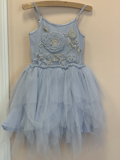 Honeypiekids | Ooh La La Couture Blue Kate Dress
