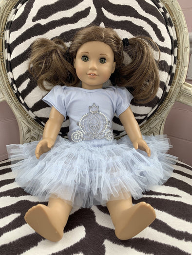 Honeypiekids | Ooh La La Couture Cinderella's Carriage Tutu DOLL Dress