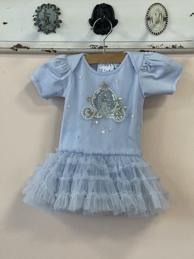 Honeypiekids | Ooh La La Couture Infant Girls Cinderella's Carriage Tutu Onesie Dress
