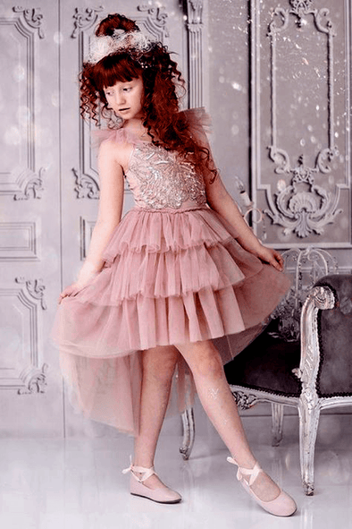 Honeypiekids | Ooh La La Couture Mauve Clara's Dream Dress