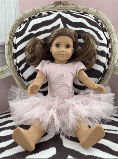 Honeypiekids | Ooh La La Couture Pink Bunny Shape Tutu DOLL Dress
