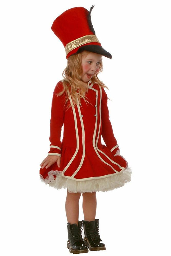 Honeypiekids | Ooh La La Couture Nutcracker Dress in Red