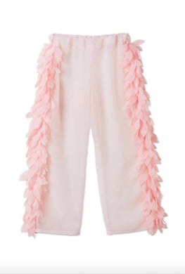 Stella Cove Pink Petals Sheer Pants