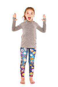 Terez Girls Patch Pals Leggings | Honeypiekids