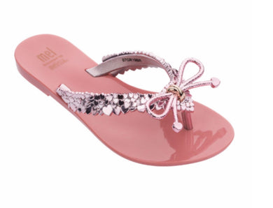 Mini Melissa Mel Harmonic Chrome III in Rose Gold | Honeypiekids