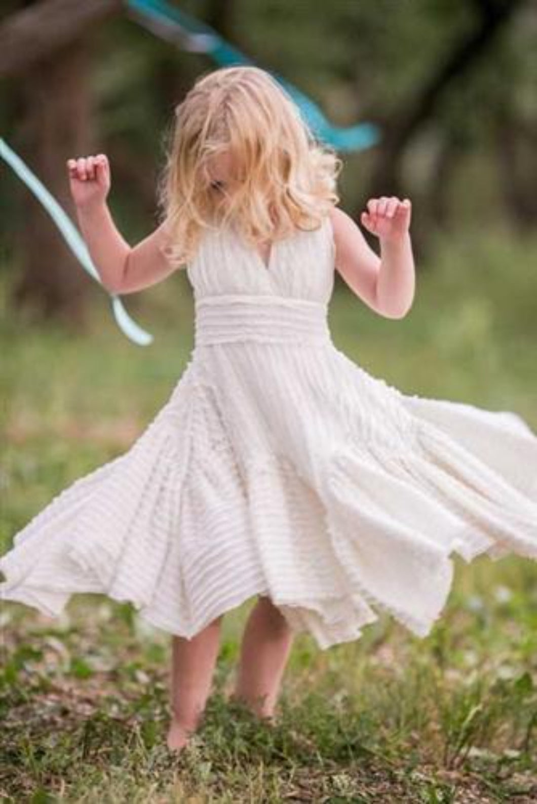 Honeypiekids | Pixie Girl Jolie Dress - Ivory