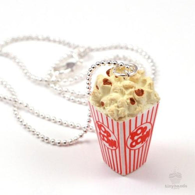 Tiny Hands Scented Buttered Popcorn Necklace
