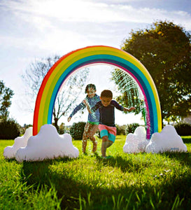 honeypiekids | Giant Inflatable Magical Rainbow Sprinkler