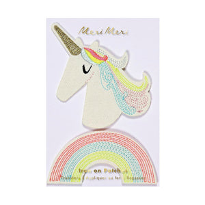 Honeypiekids | Meri Meri Unicorn & Rainbow Patches