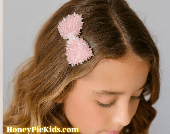 Honeypiekids | Sienna Likes To Party Girls Stargazer Crystal Designer Hair Clip