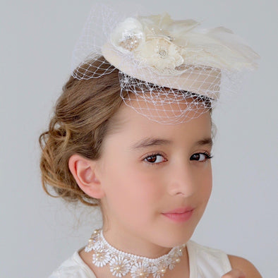 honeypiekids | Sienna Likes To Party Girls The Lady Mayflower Hat.