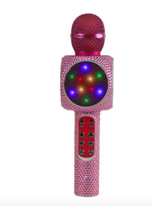 honeypiekids | Sing-Along Bling Karaoke Microphone- 2 COLORS AVAILABLE