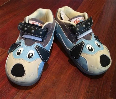 honeypiekids | Sparky the Puppy Mid Zooligan Shoes
