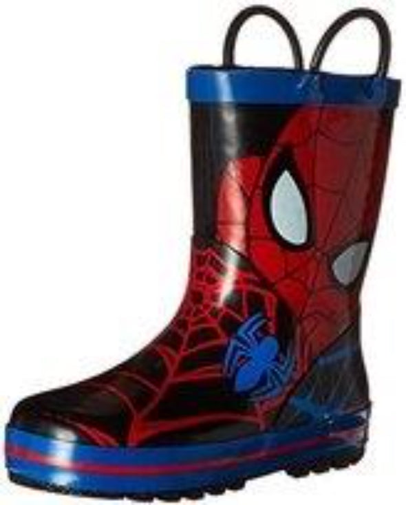 Honeypiekids | Spiderman Face Rubber Boots