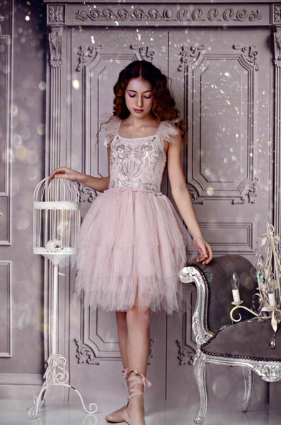 Honeypiekids | Ooh La La Couture Sugar Plum Fairy Dress in Light Lilac